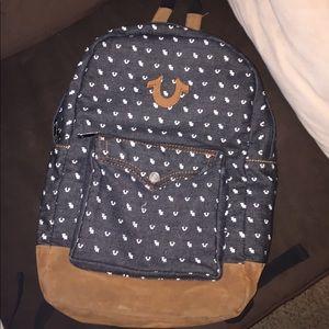 True Religion Jacket and Bookbag